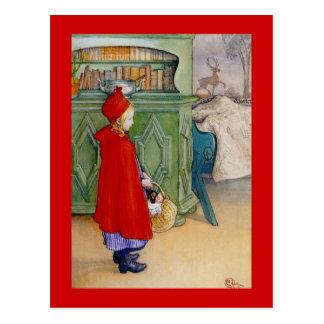 Kleines Rotkäppchen 1913 Postkarte