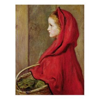 Kleines Rotkäppchen durch John Everett Millais Postkarte