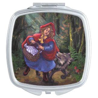 Kleines Rotkäppchen Taschenspiegel