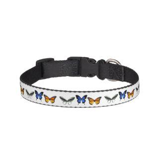 Kleines Schmetterlings-Muster-Hundehalsband Haustierhalsband