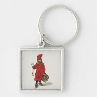 Kleines schwedisches Mädchen Carl Larssons: Brita Schlüsselanhänger