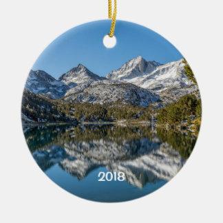 Kleines Seen Tal des langen See-, Kalifornien Keramik Ornament