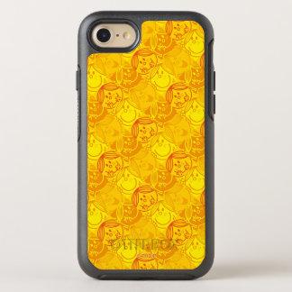 Kleines sonniges gelbes Muster Fräulein-Sunshine | OtterBox Symmetry iPhone 8/7 Hülle