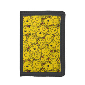 Kleines Spaß-Gelb-Lächeln-Muster Fräulein-Sunshine