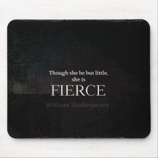 Kleines und heftiges Shakespeare-Zitat Mousepad
