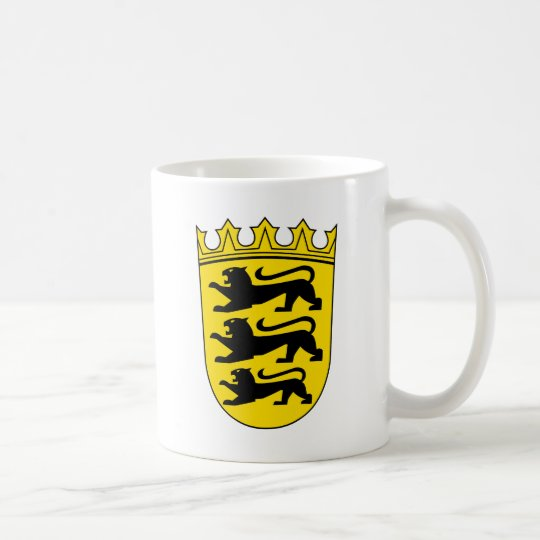 Kleines Wappen von Baden-Württemberg Kaffeetasse