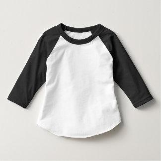 Kleinkind-amerikanisches Kleid 3/4 Hülseraglan-T - T Shirt