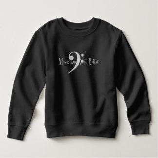 Kleinkind-Dunkelheits-Sweatshirt des Duo-(Baß) Sweatshirt