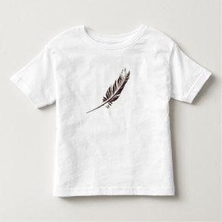 Kleinkind-Feder-T - Shirt