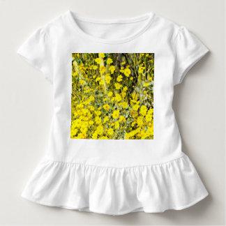Kleinkind gekräuseltes T-Stück in der Wildblume Kleinkind T-shirt