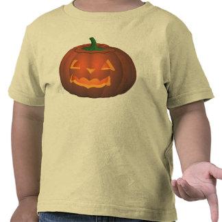 Kleinkind-Halloween-T - Shirt-Kürbis-Kleinkind-Hem