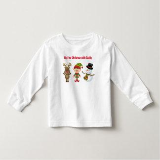 Kleinkind-langer Hülsen-T - Shirt
