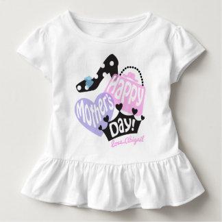 Kleinkind-Mädchen-glückliche Kleinkind T-shirt