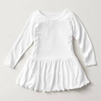 Kleinkind-Rüsche-Kleid Hemd