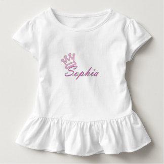 Kleinkind-Rüsche-T-Stück der Königin-Sophia Kleinkind T-shirt