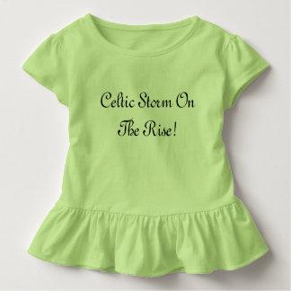 Kleinkind-Rüsche-T-Stück Iren-Tanz Kleinkind T-shirt
