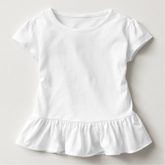 Kleinkind-Rüsche-T-Stück Kleinkinder T-shirt