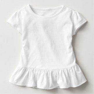 Kleinkind-Rüsche-T-Stück T-shirt