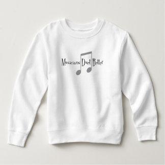 Kleinkind-Sweatshirt des Duo-(Anmerkungen) Sweatshirt