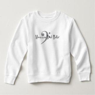Kleinkind-Sweatshirt des Duo-(Baß) Sweatshirt