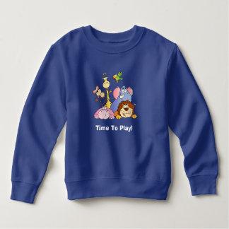 Kleinkind-Sweatshirt--Dschungel-Tiere Sweatshirt