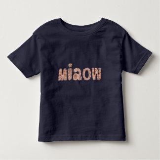 Kleinkind-T - Shirt mit 'miaow