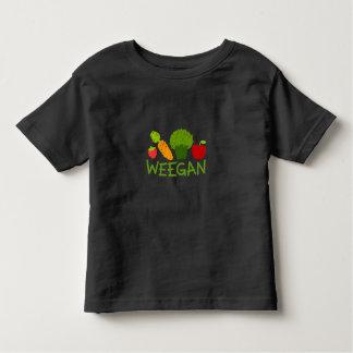 Kleinkind Weegan T - Shirt - Dunkelheit