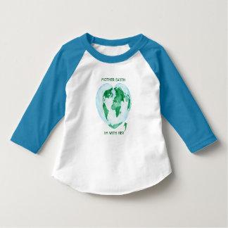 Kleinkindraglan-T - Shirt - Mutter-Erde bin ich