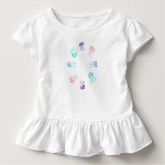 Kleinkindrüsche T - Shirt mit Quallen
