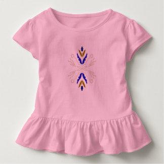 Kleinkindrüsche-T-Stück Rosa Kleinkind T-shirt