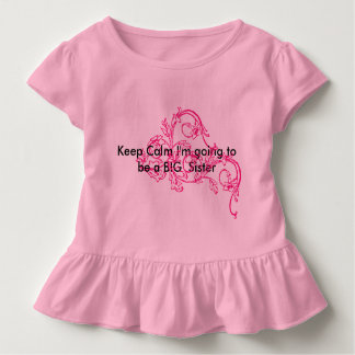 Kleinkindrüschet-stück Kleinkind T-shirt