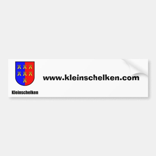 Kleinschelken Siebenbürger Sachsen Wappen Domain Autoaufkleber