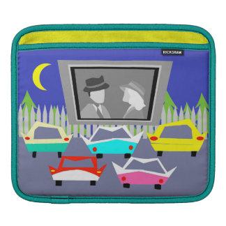 Kleinstadt-Autokino-Film iPad Hülse iPad Sleeve