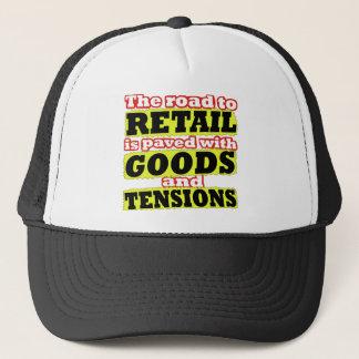 Kleinwaren und Spannungs-Wortspiel-Hut Truckerkappe