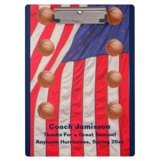 Klemmbrett, amerikanische Flagge, Klemmbrett