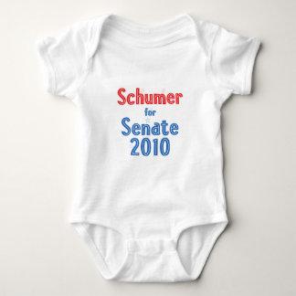 Klemme Schumer für Stern-Entwurf des Senats-2010 Baby Strampler