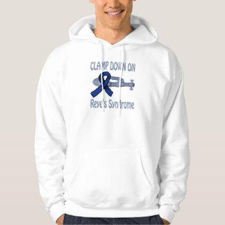 Klemmen Sie unten auf Reye Syndrom-Shirt fest Hoodie