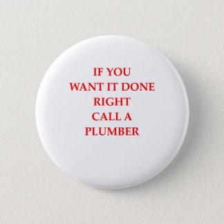 Klempner Runder Button 5,1 Cm