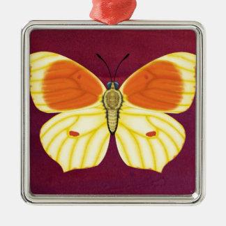 Kleopatra-Schmetterling Silbernes Ornament