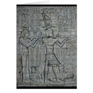 Kleopatra und Caesarion Karte
