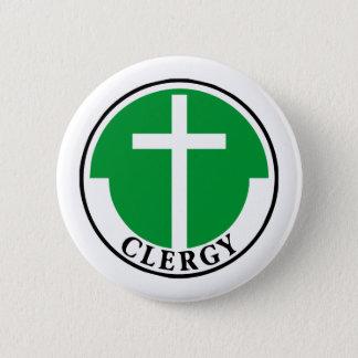 Klerus im Grün Runder Button 5,1 Cm