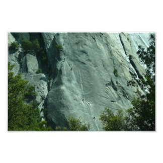 Kletterer auf EL Capitan Fotodruck
