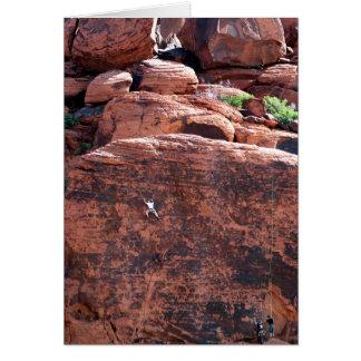 Kletterer-Geburtstag Karte