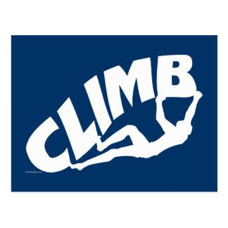 Klettern Bouldering Postkarte