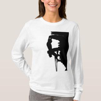 Klettern-DamenHoodie T-Shirt
