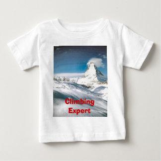 Klettern des Matterhorns Baby T-shirt