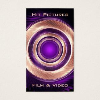 Klettern ringsum Filmemacher-Fotografen Visitenkarte
