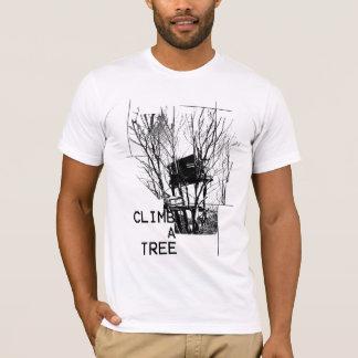 Klettern Sie einen Baum-T - Shirt
