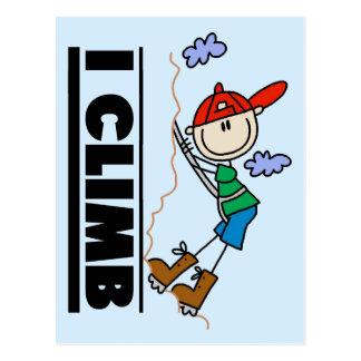 Klettern-T-Shirts und Geschenke Postkarte