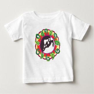 Klettern-Zen-Mädchen Baby T-shirt